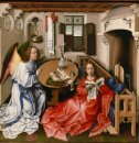 The Mérode Altarpiece - The Annunciation