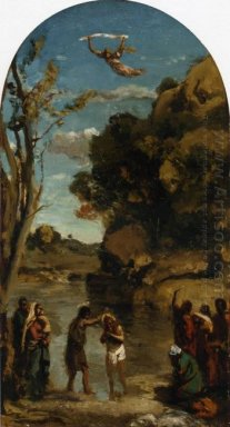 The Baptism Of Christ Study 1845