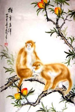 Monkey - Chinese Painting