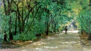 Alley In The Park Kachanovka 1880