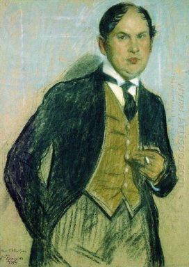 Portrait Of G Narbut 1914