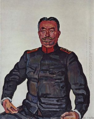 Portrait Of General Ulrich Wille 1916