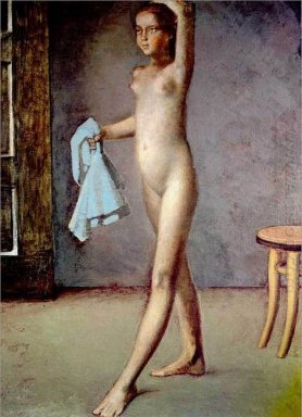 Nude With A Silk Scarf