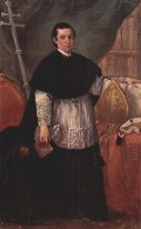 Portrait Of Bishop Benedetto Ganassoni 1774