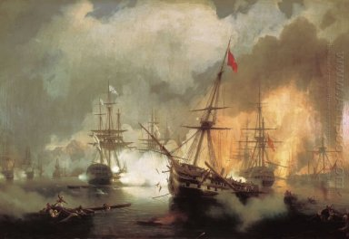 The Battle Of Navarino 1846
