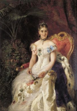 Portrait Of Countess Maria Mikhailovna Volkonskaya