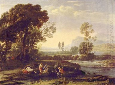 Landscape With The Flight Into Egypt 1647