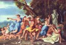Bacchanal Before A Statue Of Pan 1633
