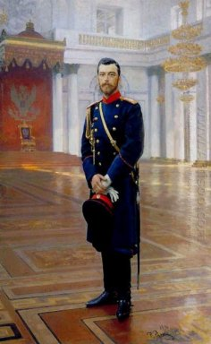 Portrait Of Nicholas Ii The Last Russian Emperor 1896