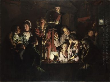 An Experiment On A Bird In The Air Pump 1768