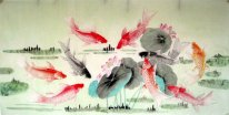 Fish&Lotus - Chinese Painting