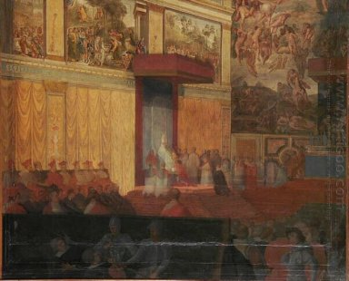 Nomination Of A Prefect Of Rome In The Sistine Chapel