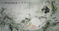 Fishing - Chinese Painting