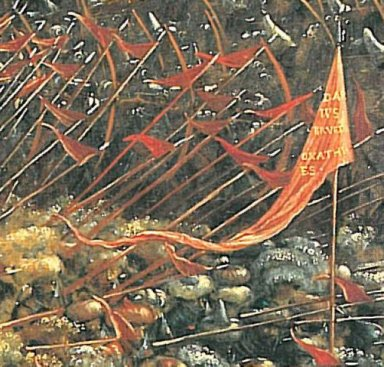 the battle of issus fragment 1529 4