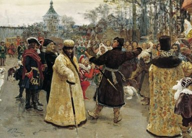 Arrival Tsars Piotr And Ioann 1900