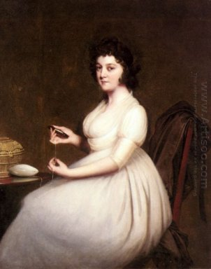 Portrait Of Mrs Abney