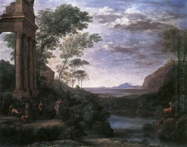Landscape With Ascanius Shooting The Stag Of Sylvia 1682