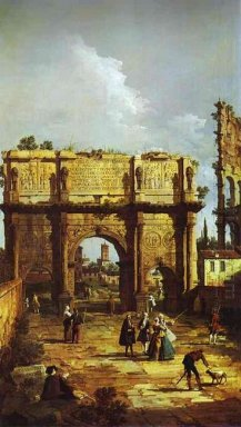 The Arch Of Constantine 1742