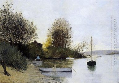 Fishermen On The Banks Of The Loire 1889