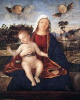 Madonna And Blessing Child 1510