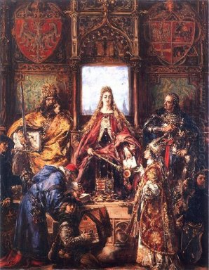 The Marriage Of Jadwiga And Jagiello