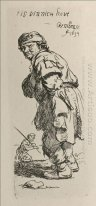 A Beggar And A Companion Piece Turned To The Left 1634
