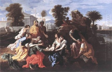 The Finding Of Moses 1651