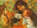 Gabrielle With Renoir S Children