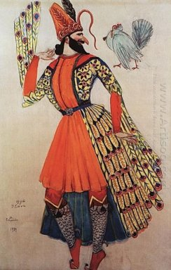 Costume Design Of A Clown For An Opera By A Spendiarov Almast 19