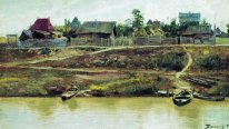 A Settlement Near Volga 1897