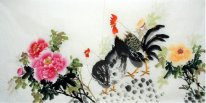 Peony-Hen - Chinese Painting