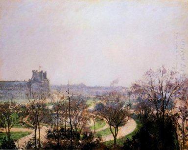 the tuileries gardens 1900
