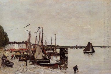 Antwerp Fishing Boats