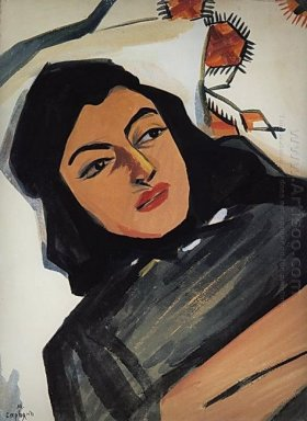 The Head Of The Girl Mariam Tazahulahyan 1912