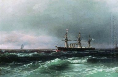 Ship At Sea 1870