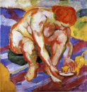 Nude With Cat 1910