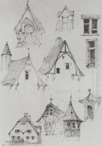 Architectural Sketches From Travelling In Germany 1872