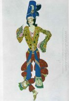 Costume For Nijinsky 1910