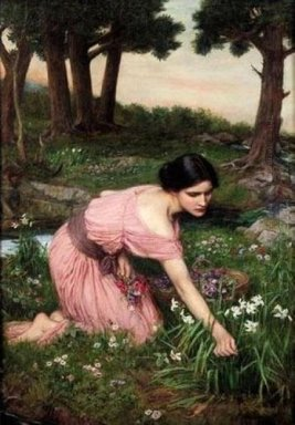 Spring Spreads One Green Lap Of Flowers 1910