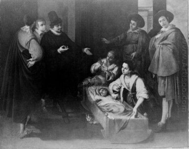 Scene From The Life Of Saint Pierre Theophile