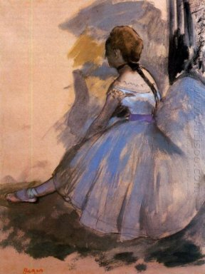 dancer seated study 1872