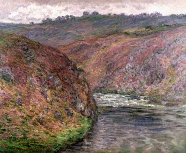 Valley Of The Creuse Grey Day 1889