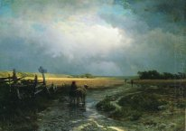 After A Rain Country Road 1869