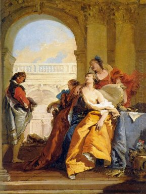 The Death Of Sophonisba 1760