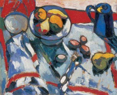 The Table Still Life With Almonds 1907
