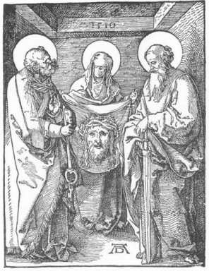 the sudarium of st veronica 1510