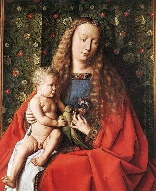 The Madonna Of Canon Van Der Paele Detail 1436 2