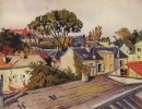 Versailles The Roofs Of The City 1924