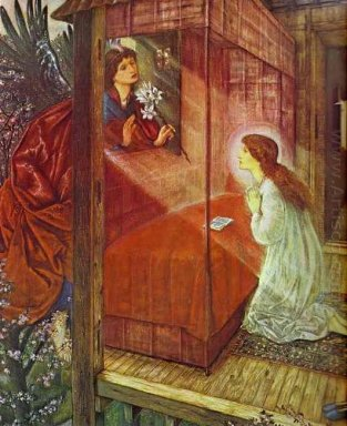 The Annunciation The Flower Of God 1862