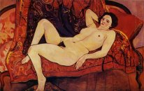 Nude On The Sofa 1920